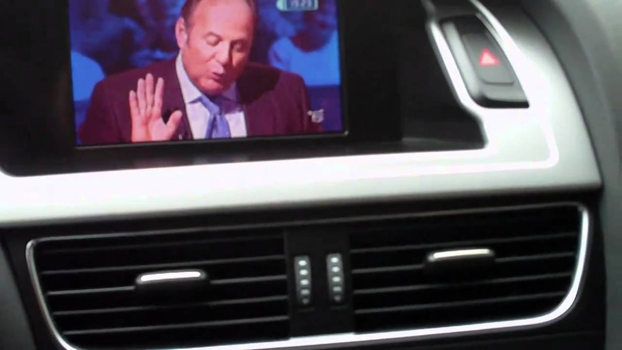 Audi A4 B8 Tv Modulo Video Youtube