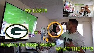 Angry Packer Fan Reacts To Redskin Game!