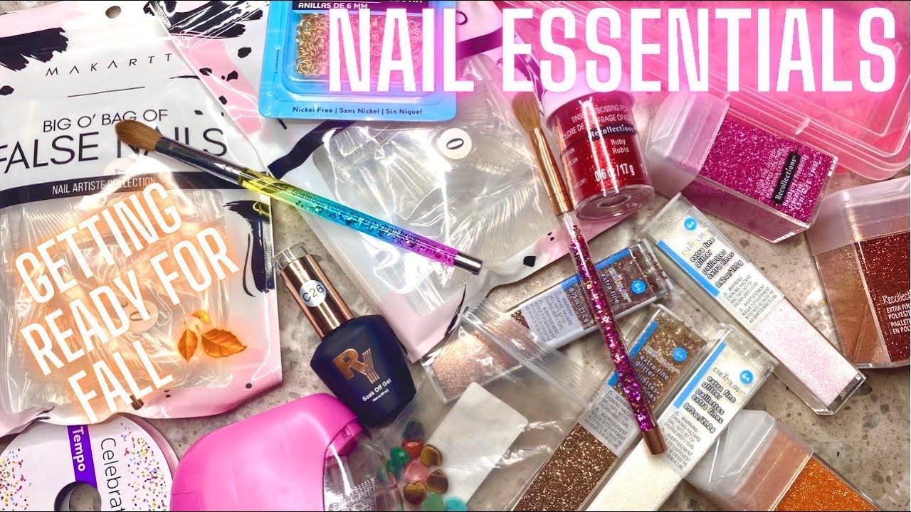 Nail supply haul   Nail haul 2021   Fall Nail art haul   Nail tech essentials   press on essentials
