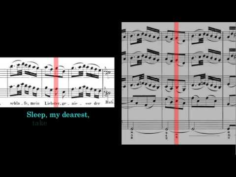 BWV 248 - Christmas Oratorio - Part 2 of 6 (Scrolling)