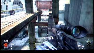 Call of duty Black Ops WMD map Sniper Hiding Places
