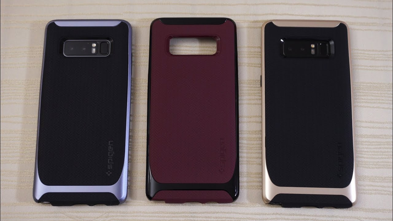 reputable site ba149 d7c26 Spigen Neo Hybrid and Liquid Air Case for Galaxy Note 8!