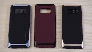 Spigen Neo Hybrid and Liquid Air Case for Galaxy Note 8!