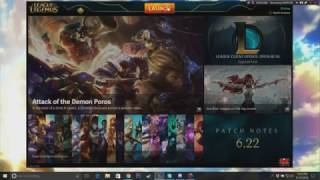 How To Use The Old League Of Legends Client (Legacy) by TieTieTV