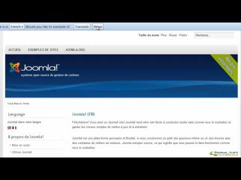 Joomla! 2.5 Tutorial - Languages
