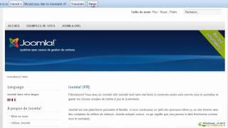 Joomla! 2.5 Tutorial - Languages