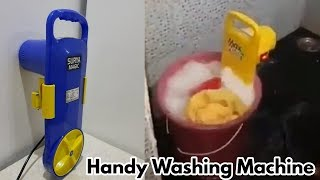 Handy Washing Machine | so cool | How to use washing machine