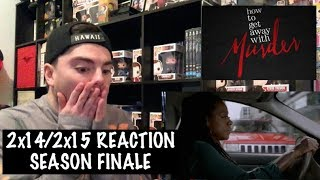 Video HOW TO GET AWAY WITH MURDER - 2x14/2x15 'THERE'S MY BABY/ANNA MAE' REACTION download MP3, 3GP, MP4, WEBM, AVI, FLV Juli 2018