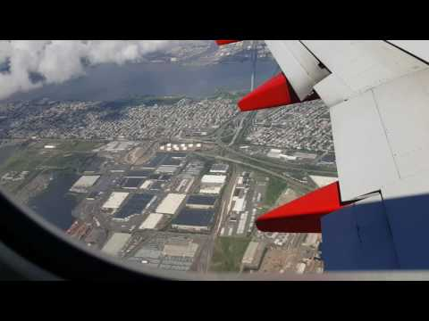 Landing at Laguardia Airport 8/21/16 On Southwest Flight From Dallas Love Field