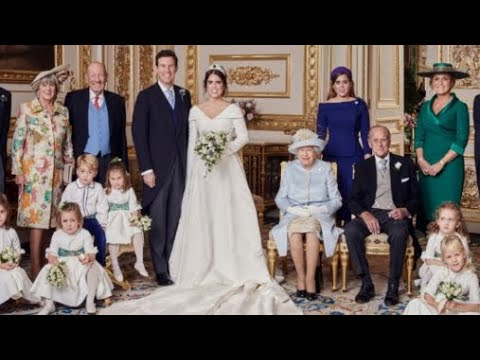 Official Royal Wedding Pictures.Princess Eugenie Jack Release Four New Official Royal Wedding Photographs