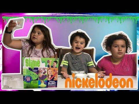TESTING NICKELODEON SLIME DIY KIT FROM MICHAELS