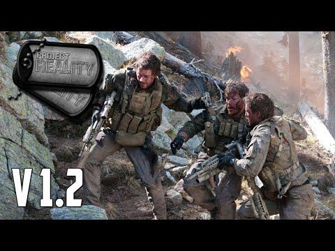 Project Reality v1.2 - 4-man Navy SEALs Team