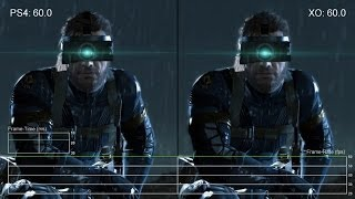 Metal Gear Solid: Ground Zeroes - PS4 vs. Xbox One Frame-Rate Tests