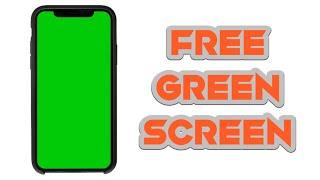 Smartphone green screen 5