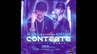 El Sica Ft. Nicky Jam - Conteste -