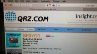 ham radio qso with sp3yor on 10 meters 16 06 2017