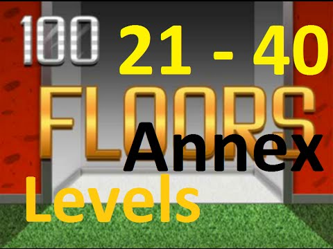 100 Floors Annex Level 21 40 21 40 уровень