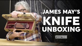 Unboxing special: Someone made James May a knife