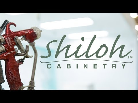 Our Finishing Process -Shiloh Cabinetry™