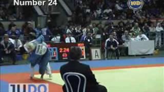 JUDO 2004 Super World Cup: Anna Saraeva (RUS) - Ana Repida (MDA)
