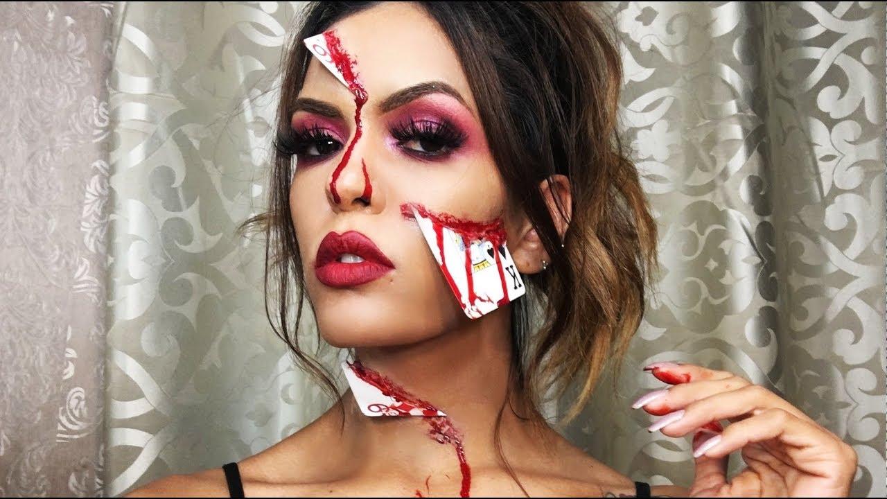 sexxxyblood maquillaje para halloween cierre