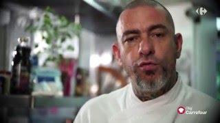 Frango Recheado com purê e legumes | Chef Carrefour Fogaça