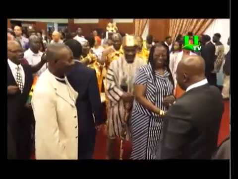 Prez Akufo-Addo Swears In 21 Ambassadors