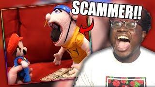 BLACK YOSHI TURNS INTO JEFFY! | SML Movie: Jeffy's Lunch Money Reaction!