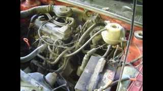 Motor VW Volkswagen Golf 1800 TBI cambio de junta de cabeza