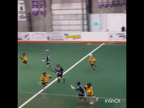 7 Year Old Lacrosse Player Huge Hit