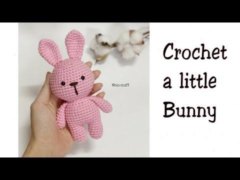 [Crochet] A Little Bunny | Móc bạn thỏ nhí đáng yêu | RiO's Corner
