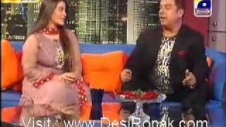 Muhammad Ali Shehki and Sarah Umair The Sahir Show P-3
