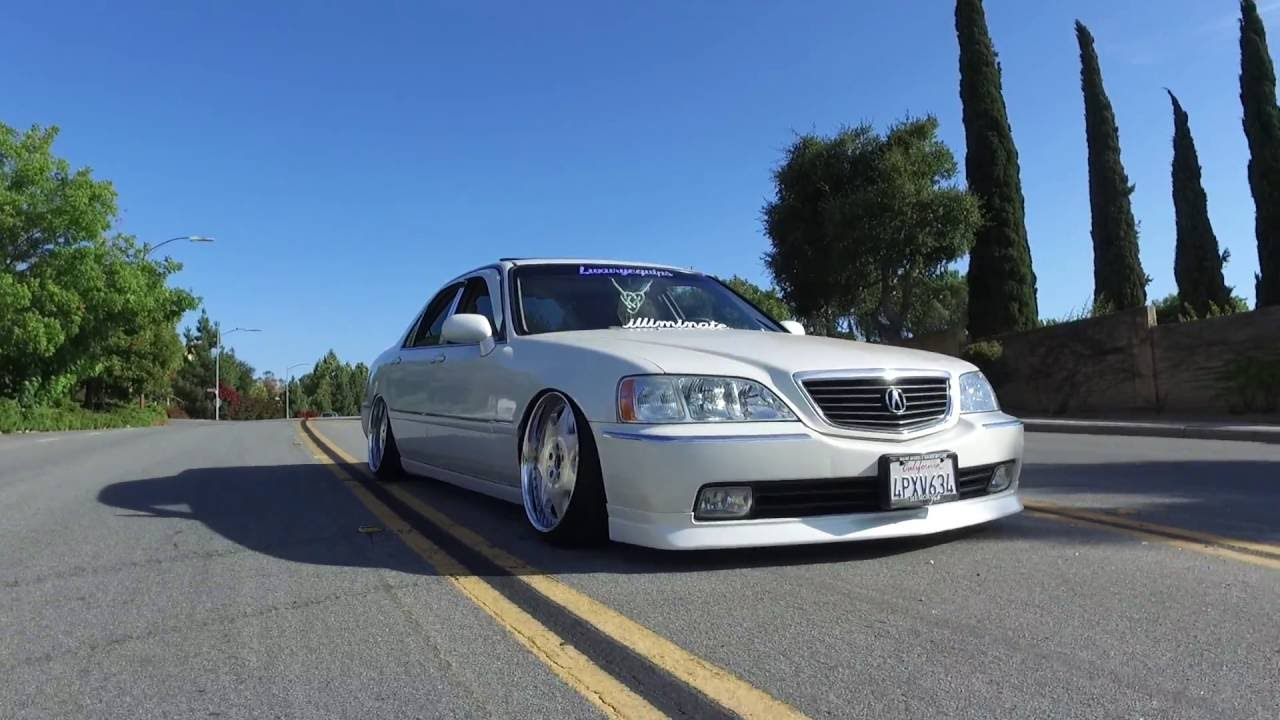 Tonys Static Acura RL YouTube - Acura rl coilovers