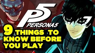 9 Things I Wish I Knew Before I Started Persona 5