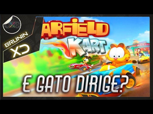 Garfield Kart - E gato dirige?