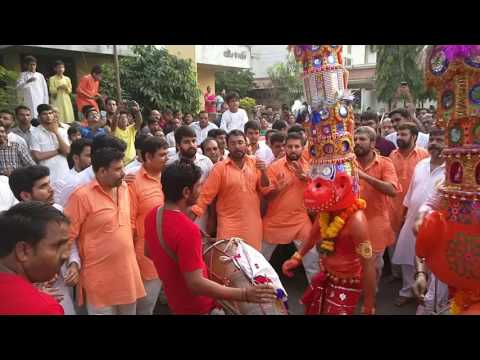 Mahavir Ji Dance on Panipat Dhol - Dusshera Utsav 2016 - Shree Ram Mandir Charitable Trust Surat