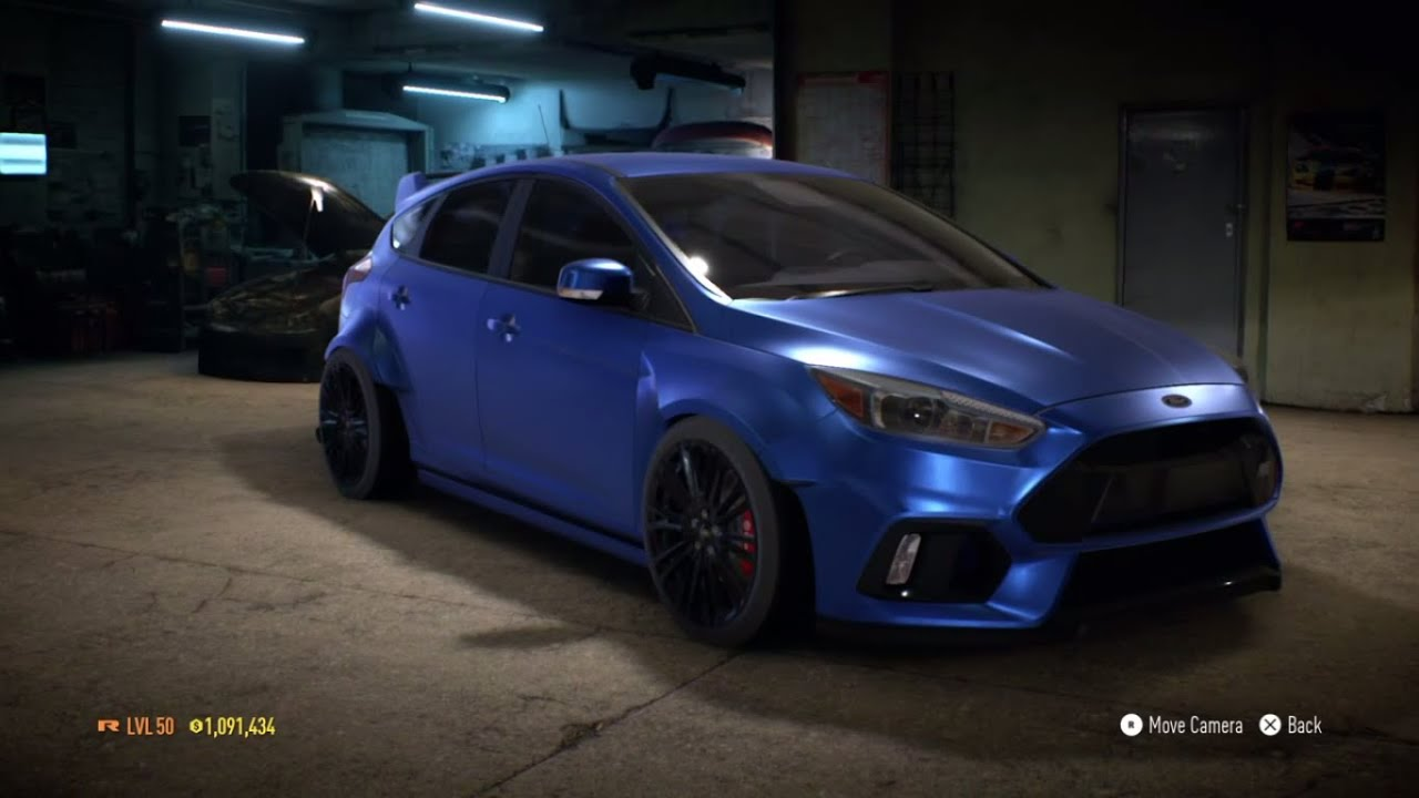 need for speed 2015 ford focus rs 2016 1100 hp build. Black Bedroom Furniture Sets. Home Design Ideas