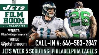 New York Jets Week 5 Scout: The Philadelphia Eagles | ESNY Film Room Live
