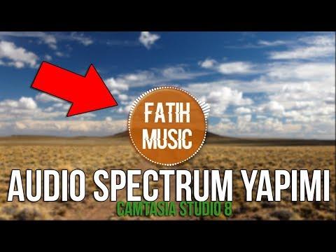 Müzik Videosu Nasıl Yapılır ? Camtasia Studio 8 - Making Audio Spectrum