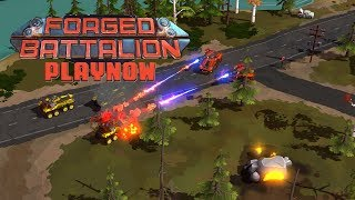 PlayNow: Forged Battalion (Early Access) | PC Gameplay