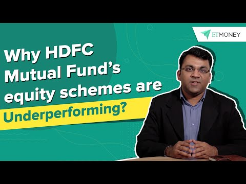 Why are HDFC Mutual Fund's Equity Schemes Underperforming? An ETMONEY Factfinder Report