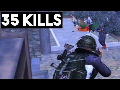 MOST INTENSE GAME EVER | 35 KILLS Duo vs SQUAD | PUBG Mobile