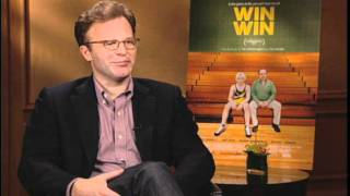 Press Day - Win Win. Interview With Director, Tom McCarthy.