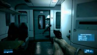 "Battlefield 3 First Mission - (Battlefield 3 Gameplay) ""Train Mission"""