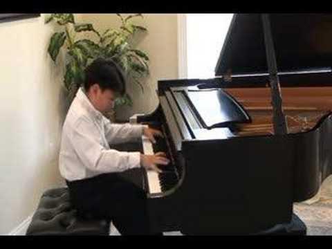 Chopin Etude Op. 10 #2  by George Li (12 yr)