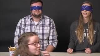 BLINDFOLDED FRY TASTING CHALLENGE ft. a fast food expert