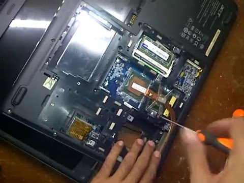How To Open Acer Aspire 5610z Cara Membuka Laptop Acer Aspire