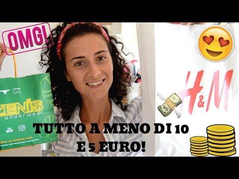HO FATTO DANNI! SHOPPING COI SALDI TUTTO SOTTO 10 E 5 EURO!!