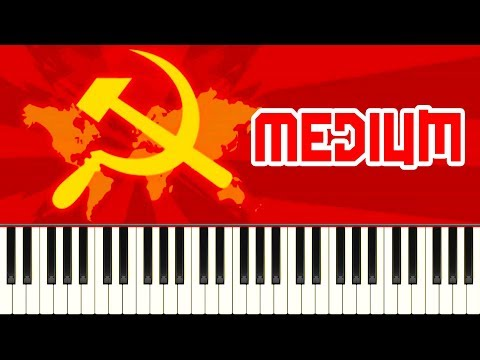 THE INTERNATIONALE - Piano Tutorial
