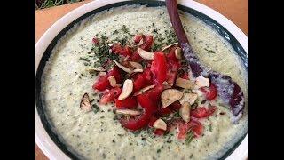 Creamy Satisfying  Raw Vegan Squash Soup :)